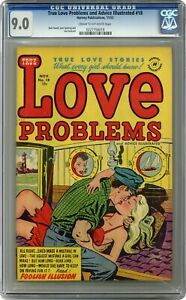 True Love Problems and Advice Illustrated #18 CGC 9.0 1952 0227758019