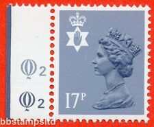 SG. NI43 Ea. 17p grey - blue. Type II. A very fine UNMOUNTED MINT.