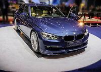 BMW 3 F30 F31 LCI Alpina look Front Lip SPOILER SPLITTER