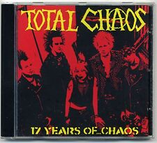 TOTAL CHAOS (USA) - 17 Years of Chaos CD Casualties enquête abrasif Wheels HC
