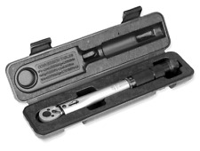 1/4 Inch Inch Pound Torque Wrench Set 20 ~ 200 in./lb Hand Click Ratchet Tool