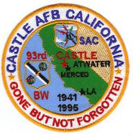 CASTLE AFB, CALIFORNIA, SAC, 93RD BW           Y
