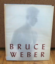 Bruce Weber Major Eighties Monograph John Cheim Sam Shepard Jessica Lange HC DJ