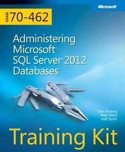 New Administrating Microsoft SQL Server (R)2012 Databases Train 9780735666078