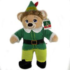 Build-A-Bear Buddy Elf Christmas Teddy Bear Plush Elf Costume Buddy Elf Voice