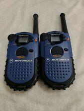 Motorola Talkabout 250 two way radio pair of 2