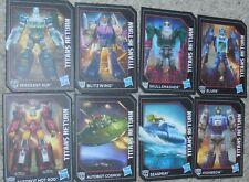 Transformers Titans Return 8 Card Lot Generations Kup Skulllsmasher Seaspray Rod