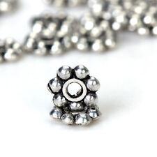 200pcs 4mm Tibetan Silver Daisy Flower Spacer Beads New