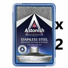 2 x Astonish Stainless Steel Cleaner [1001]