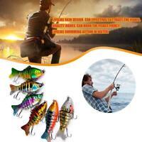 1PC Fishing Bass Lure Mehrgelenkiger künstlicher Köder N3Q6