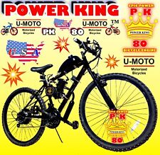 "66cc/80cc 2-STROKE MOTORIZED BIKE KIT AND 26"" POWER MT BIKE DIY FOR MOTOR BIKES"