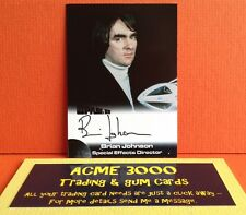Gerry Anderson Space 1999 Unstoppable - Brian Johnson Autograph Card BJ Director
