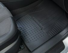 OE 12-17 Hyundai Veloster ALL-WEATHER FLOOR MATS (4-PC SET, BLK, 2V013-ADU00)