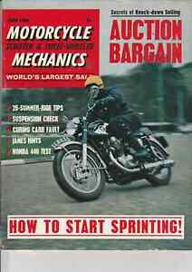 BSA Bantam Gearbox,Sprinters,Triumph Tiger Cub,Manx Norton 350,Honda CB450,1966
