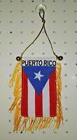 "Puerto Rico Flag Mini Banner (4"" x 6"")"