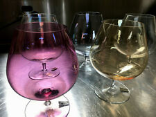 RIEDEL - RARE Claus JR + Swarovski Mid Century Brandy Cognac Snifter Glasses