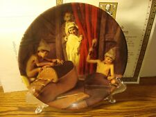 """The Shoemaker and the Elves "" Brother Grimm's Fairy Tales Collectible Plate"