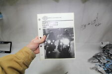 1991-1992 Police parts catalog FXRP FLHTP 99545-92 Harley FXRP FXRT EPS18244