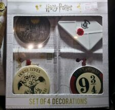 HARRY POTTER Hogwarts Hanging Decorations New Gift Boxed Official