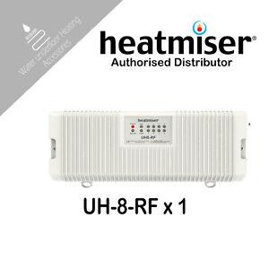 Heatmiser UH8 RF 8 Zone Wireless Wiring Centre Water Underfloor Heating