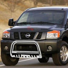 FOR 04-15 NISSAN TITAN/ARMADA STAINLESS BUMPER BULL BAR PUSH GRILLE SKID PLATE