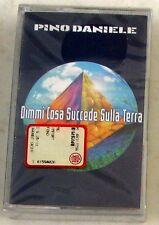 PINO DANIELE - DIMMI COSA SUCCEDE SULLA TERRA - Musicassetta Sigillata