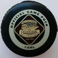 1938-2002 HERSHEY BEARS PARK INGLASCO OFFICIAL GAME PUCK VINTAGE CANADA RARE ad*