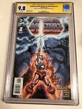 CGC 9.8 SS He-Man and the Masters of the Universe #1 signed Robinson & Tan