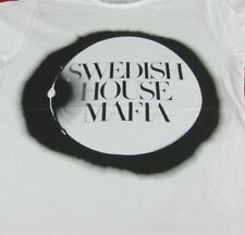 SWEDISH HOUSE MAFIA T-SHIRT - Electronic dance music trio (Size Large)