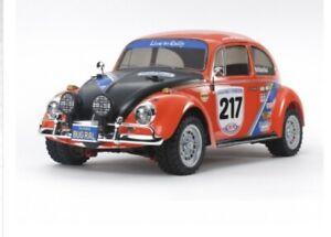 Tamiya RC Elektro Auto 1:10 VW Beetle Rally MF – 01X Bausatz - 300058650