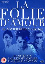 La Folie D'amour: The Xavier Dolan Collection New Pal Arthouse 3-Dvd Set France