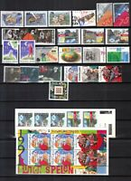 Netherlands 1990 yearset MNH complete with sheets