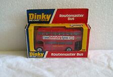 NEW IN BOX NIB 1978 DINKY DIE-CAST TOYS ROUTEMASTER BUS # 289~CASE FRESH