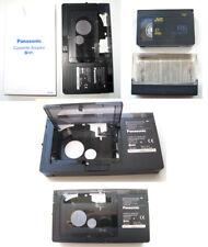 PANASONIC VHS C Cassette Adapter for VCR + Compact Video Cassette JVC Hi-Fi