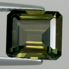 2.90 ct  AMAZING VERY RARE GEM  STUNNING NATURAL KORNERUPINE OCTAGON _ 662