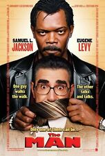 The Man movie poster  :11 x 17 inches : Samuel L. Jackson, Eugene Levy