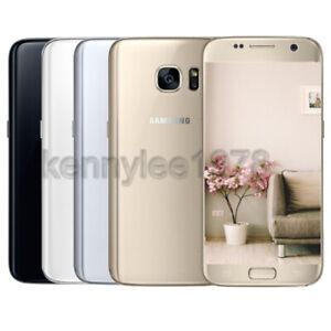 Samsung Galaxy S7 G930P 32GB GSM Unlocked 4G LTE Sprint Black White Silver Pink