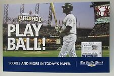 circa 2002 Mariners MIKE CAMERON Seattle Times newspaper vending machine sign