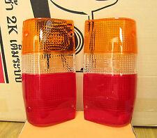 2 REAR LAMP TAIL LIGHT LENS for MITSUBISHI L200 TRITON ME MF MG MH MJ UTE PICKUP