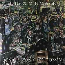 ROD STEWART ‎- A Night On The Town (LP) (VG/VG-)