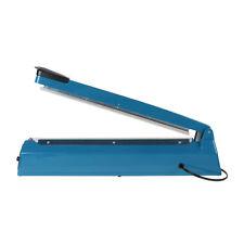 "16"" Heat Sealing Hand Impulse Sealer Machine Poly Free Element Plastic Sealer BT"