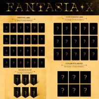MONSTA X - FANTASIA X UNIT PHOTO CARD COLOR POLAROID TRIANGLE STAND