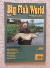 Big Fish World Number 1 One  Magazine Summer 1990 Edited By Kevin Clifford