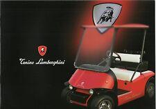 Tonino LAMBORGHINI range _ 2002 prospetto/Brochure