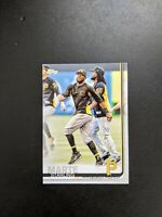 Starling Marte 2019 Topps Series 1 SP Photo Variation #253 Pittsburgh Pirates