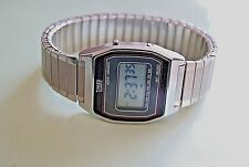 Vintage Timex Quartz K Cell LCD Digital Men's Watch New Battery Accurate Time
