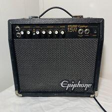 Epiphone STUDIO15R  Black Guitar Combo Amp 120V