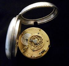 Verge Fusee Auguste a Paris Pocket Watch French from circa 1765