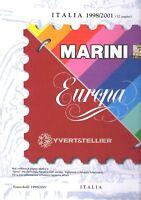 Fogli Marini Italia Repubblica versione Europa 1998 2001