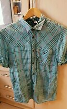 MENS FITTED CASUAL SHORT SLEEVE SHIRT FROM H&M SIZE SMALL